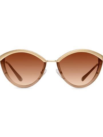 Prada Eyewear Prada Cinéma Eyewear Sunglasses - Neutrals