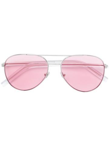 Retrosuperfuture Ideal Aviator Sunglasses - Pink & Purple