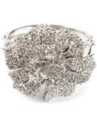 Alexander Mcqueen Crystal Flower Bracelet