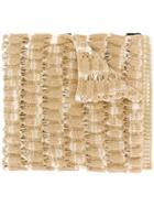 Missoni Textured Intarsia Scarf - Brown