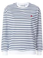 Carhartt Striped Sweater - White