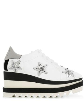 Stella Mccartney Sneak-elyse Star Sneakers - White