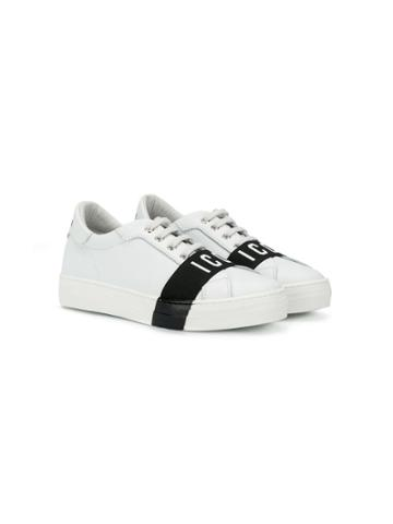 Dsquared2 Kids Teen Icon Sneakers - White