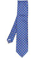Canali Patterned Tie - Blue