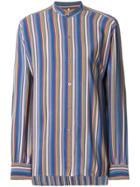 Yves Saint Laurent Vintage Striped Shirt - Multicolour