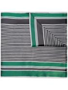 Haider Ackermann Striped Scarf - Green