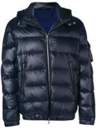 Eleventy Padded Jacket - Blue
