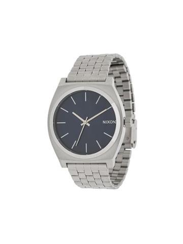 Nixon Time Teller Watch - Silver