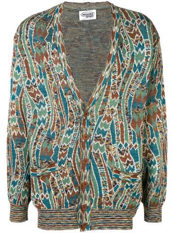 Missoni Vintage Patterned V-neck Cardigan - Multicolour