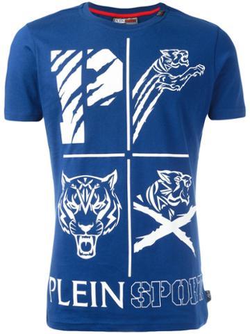 Plein Sport Ogawa T-shirt, Men's, Size: Large, Blue