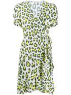 Diane Von Furstenberg Emilia Wrap Dress - White