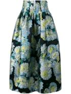 Emilio Pucci Triangle Printed Midi Skirt - Multicolour