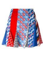 Kenzo Patchwork Houndstooth Skirt