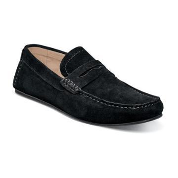 Florsheim Denison Mens Leather Moc Toe Penny Loafer Shoe