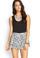 Forever21 Woven Printed Shorts