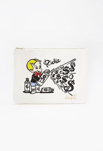 Alec Monopoly X Forever 21 Richie Rich Canvas Pouch