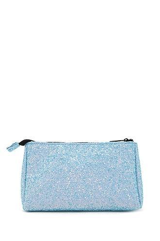 Forever21 Iridescent Sequin Makeup Bag