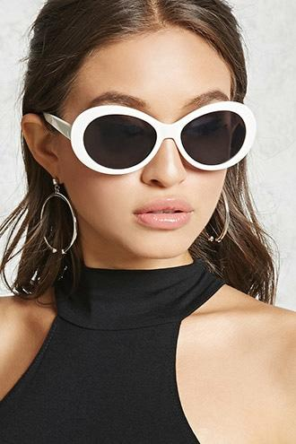Forever21 Tinted Oval Sunglasses