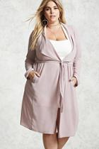Forever21 Plus Size Trench Coat