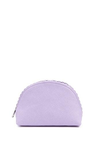 Forever21 Textured Faux Leather Makeup Bag