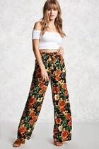 Forever21 Contemporary Floral Pants