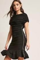Forever21 Ruched Mermaid Dress