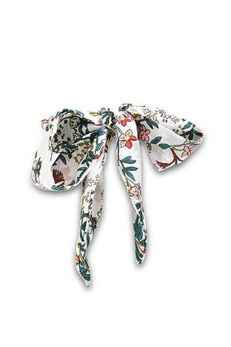Forever21 Floral Satin Wired Hair Wrap