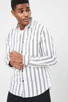 Forever21 Classic Striped Shirt