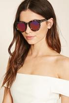 Forever21 Abstract Round Sunglasses