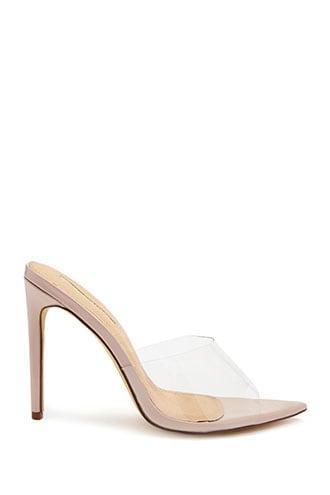 Forever21 Translucent Stiletto Heel