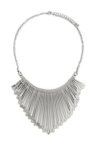 Forever21 Matchstick Statement Necklace