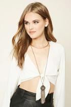 Forever21 Ornate Layered Necklace