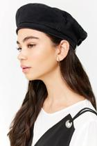 Forever21 Woven Adjustable Beret
