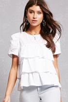 Forever21 Tiered Ruffle Top
