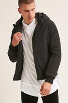 Forever21 Hooded Contrast Jacket