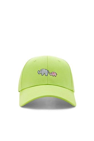 Forever21 Elephant Graphic Baseball Cap