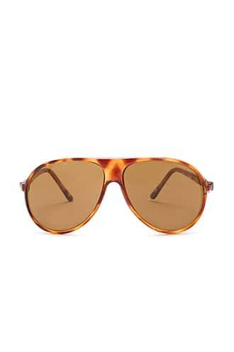 Forever21 Replay Vintage Tortoiseshell Aviator Sunglasses