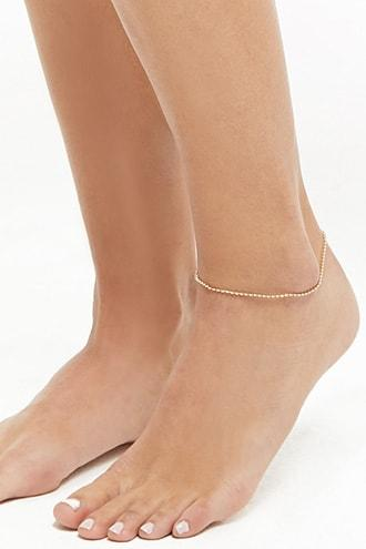 Forever21 Geo Chain Anklet