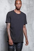 Forever21 Raw-cut Vented Tee