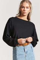 Forever21 French Terry Knit Top