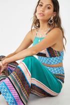 Forever21 Satin Tribal-inspired Cami