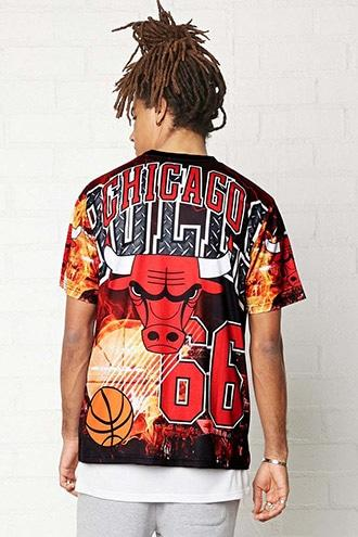 Forever21 Nba Chicago Bulls Graphic Tee