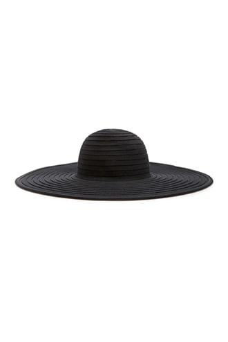 Forever21 Shadow-striped Floppy Hat