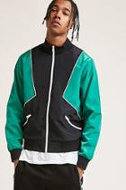 Forever21 Colorblock Track Jacket