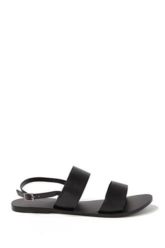 Forever21 Strappy Leather Sandals