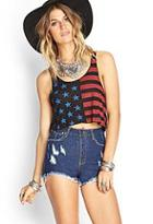 Forever21 High-waisted Distressed Cutoffs