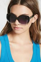 Forever21 Ombre Round Sunglasses
