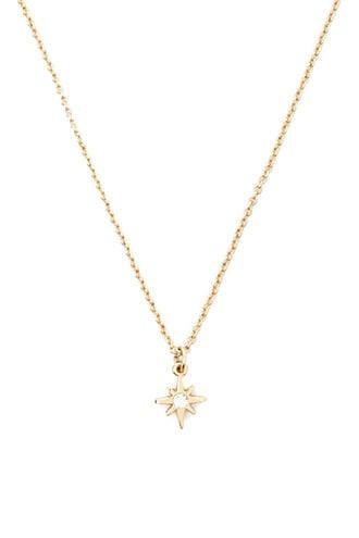 Forever21 Rhinestone Star Charm Necklace