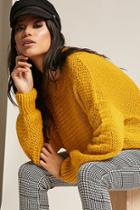 Forever21 Open-knit Top