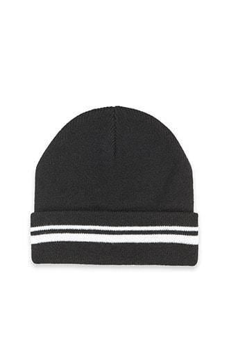 Forever21 Striped Knit Beanie